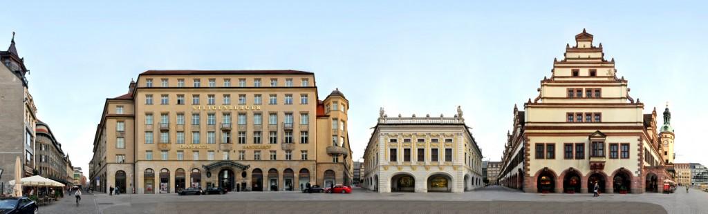Foto Altes Rathaus Börse Handelshof