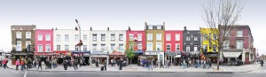 Camden Market Panorama London