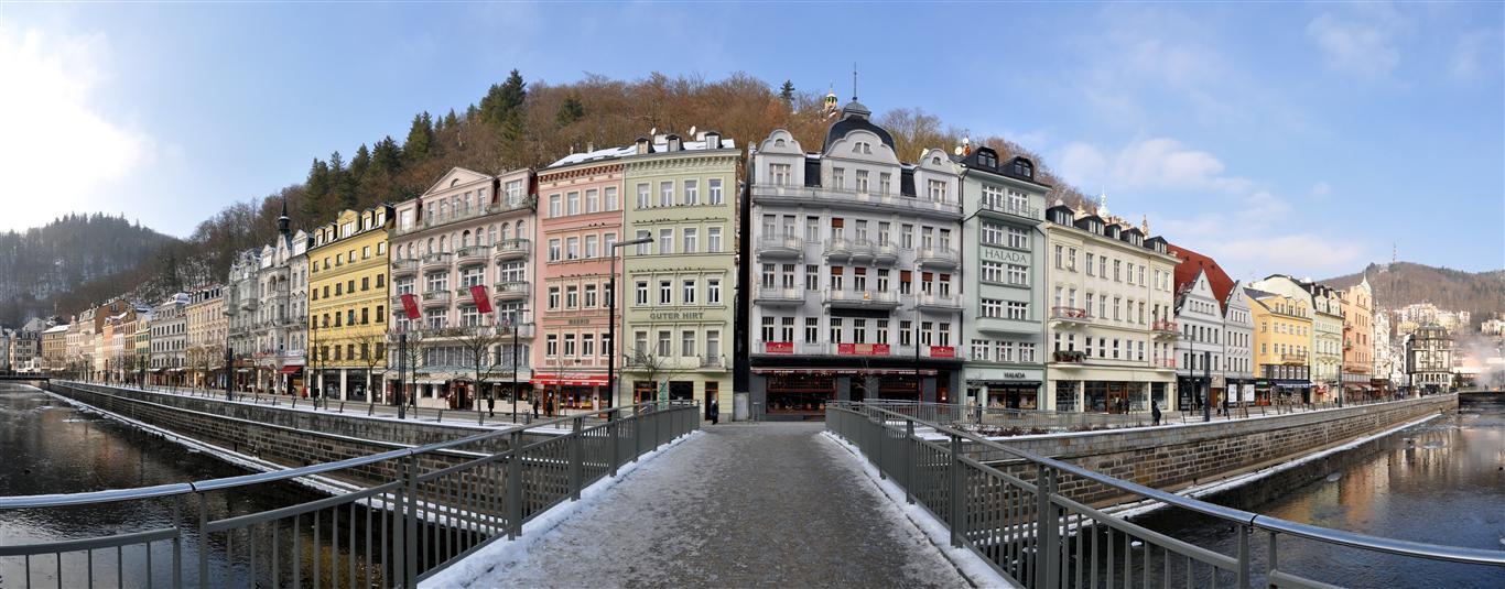 Karlovy Vary Panorama Czech Republic