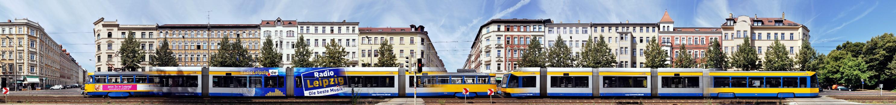 Straßenbahn plus Karl-Liebknecht-Straße