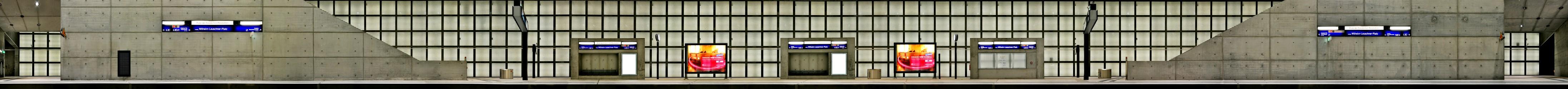 City Tunnel station Wilhelm-Leuschner-Platz