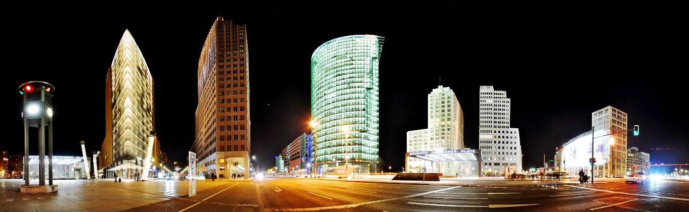 architecture Berlin Potsdamer Platz