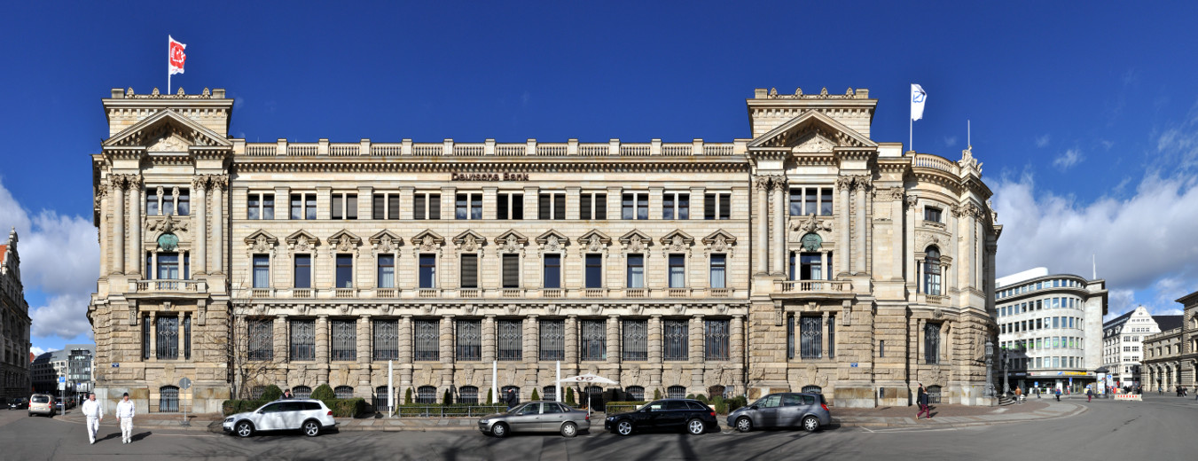 Deutsche Bank (former bank of Leipzig) building