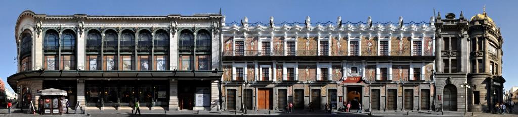 Casa de los munecos panoramastreetline for Casa mansion puebla