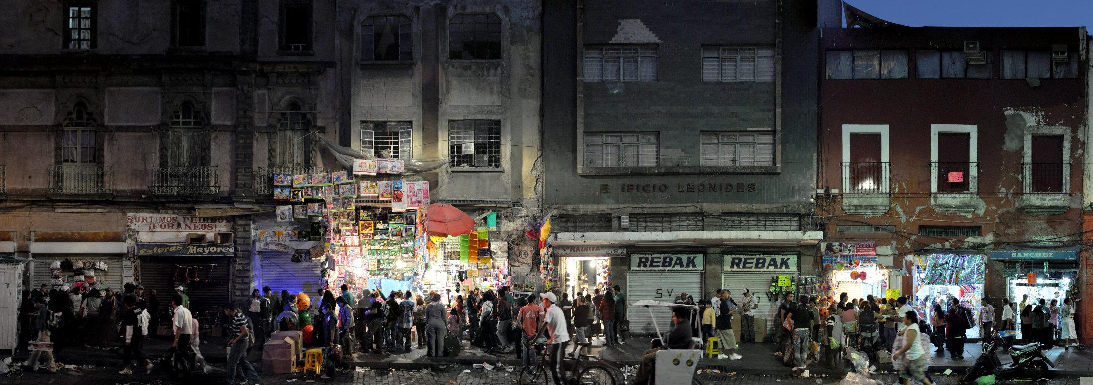 Mexiko Stadt Fotografie Straßenansicht
