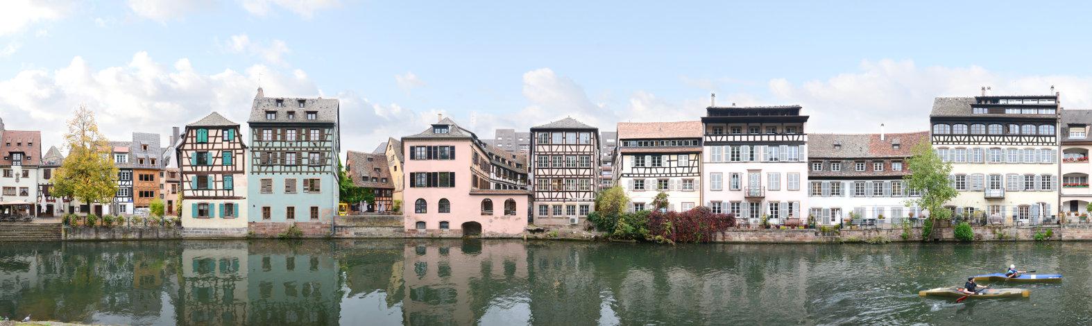 France Strasbourg Quai de la Bruche