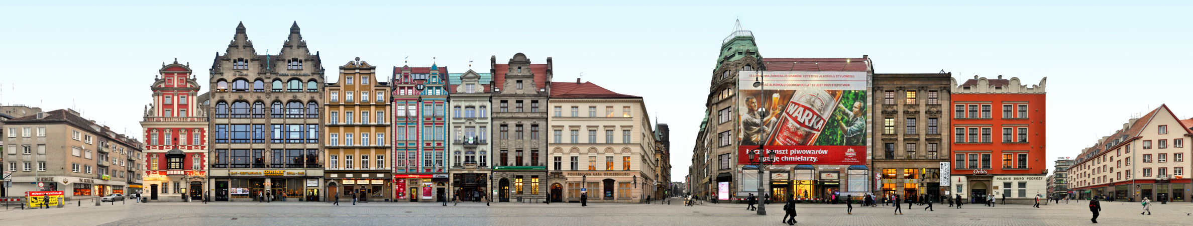 Rynek Ostseite | Großer Ring zu Breslau