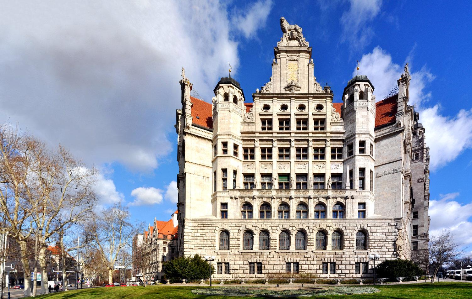 Neues Rathaus Leipzig Foto Image Bild
