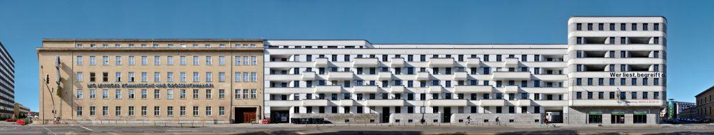 Leipzig Architektur Panorama modern Sachsen