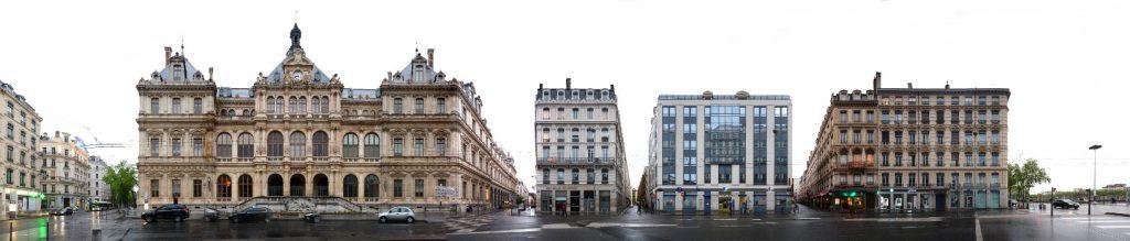place des cordeliers Lyon Panorama