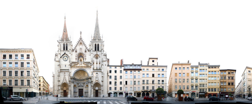 Lyons architektur stra enz ge im linearen panorama for Z architecture lyon