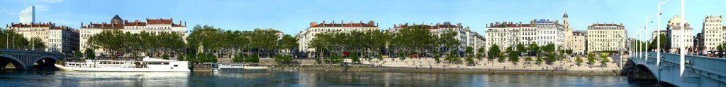 quai victor augagneur Lyon Panorama
