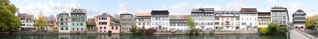 la petite france river Ill Strassburg Frankreich