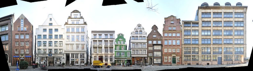 Hambur Architektur Panorama Altstadt