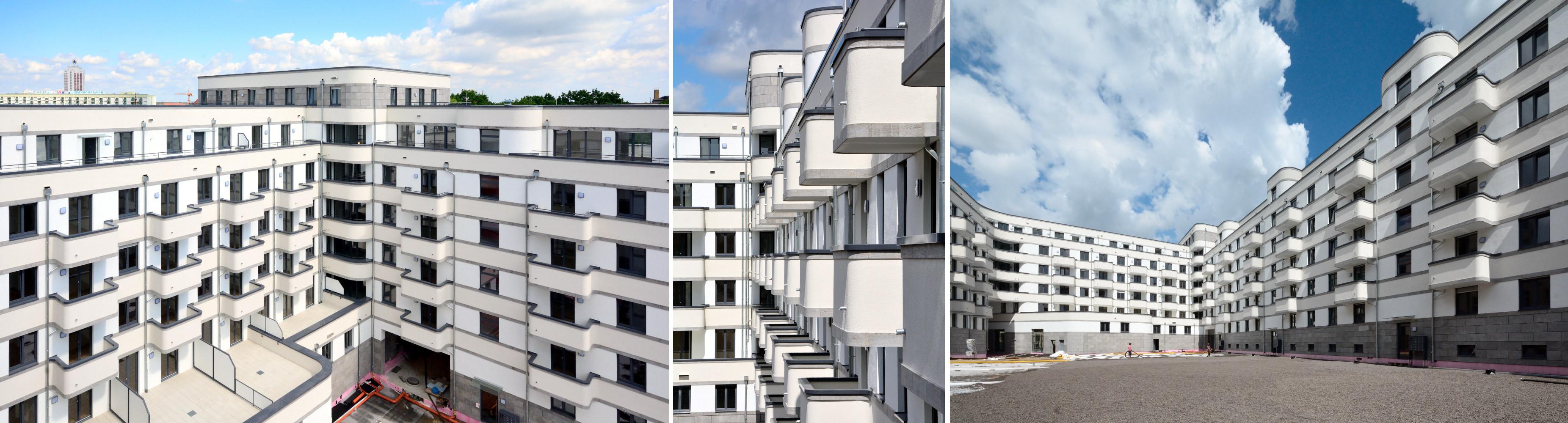 Architekturfotografie Leipzig architecture photography panoramastreetline