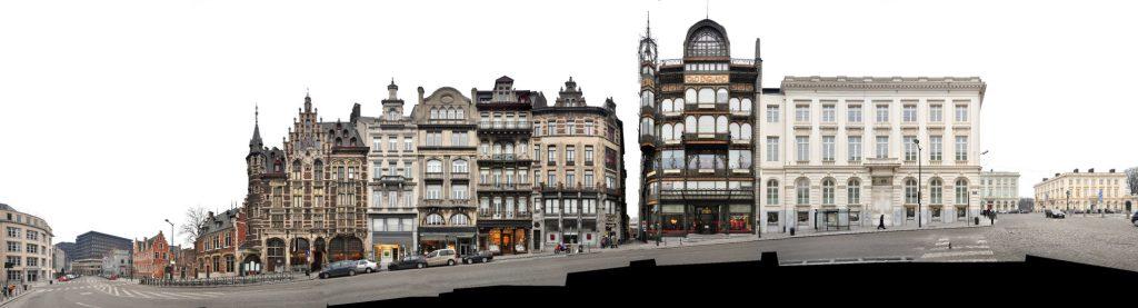 Brüssel Coudenberg Architekturfotografie