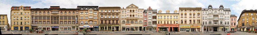 Zwickau streetview Innenstadt Einkaufszone