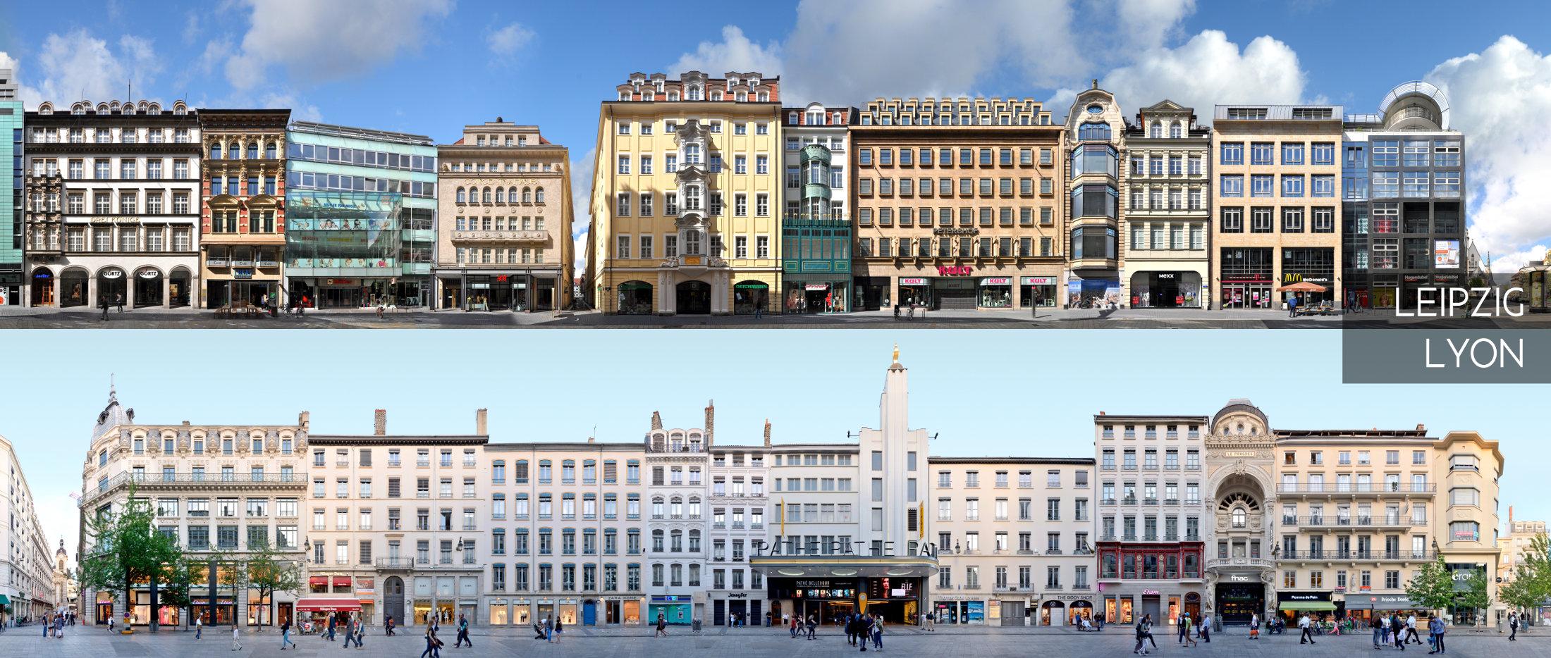 Architektur Bilder Leipzig Lyon Ausstellung Bahnhof