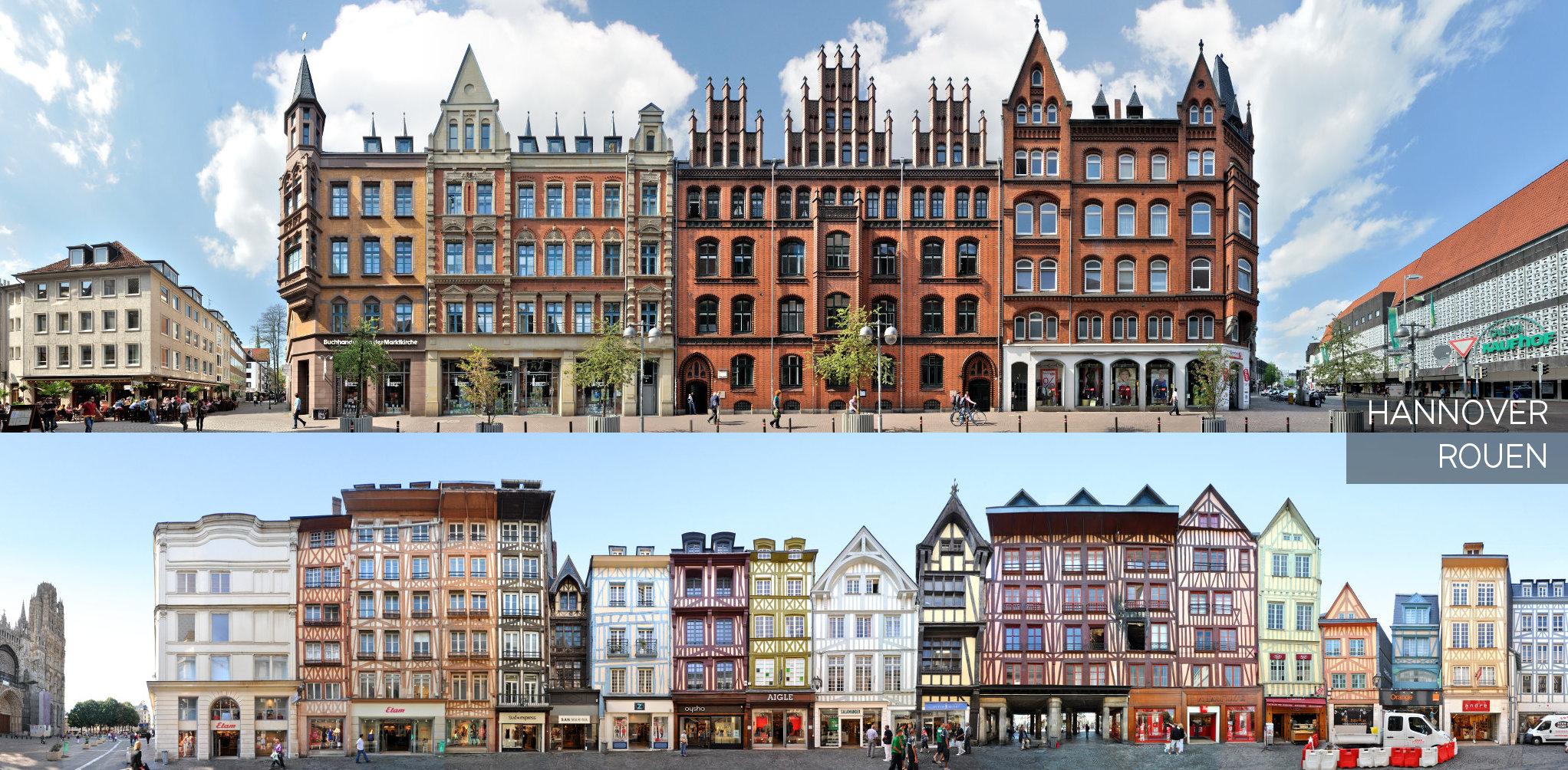Hannover Rouen Partnerstädte Frankreich