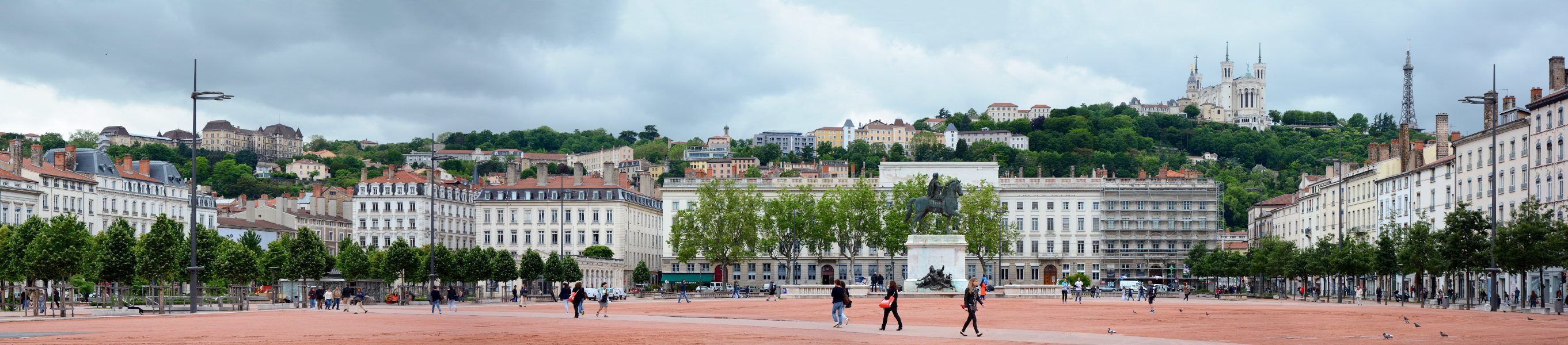 Place Bellecour | Statue Ludwig XIV.