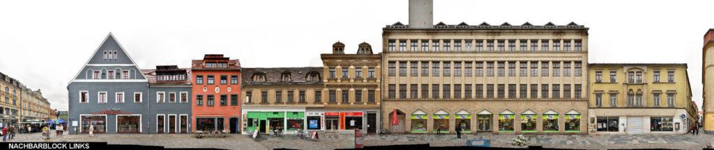 Zwickau Hauptstraße Gebäude