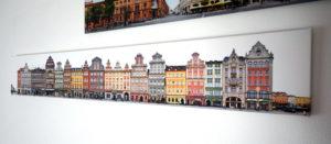 Foto Leinwanddruck Breslau Wroclaw