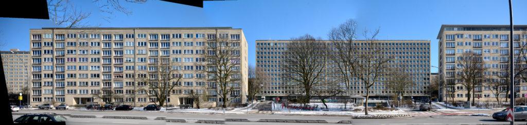 Hamburg Grindelhochhäuser