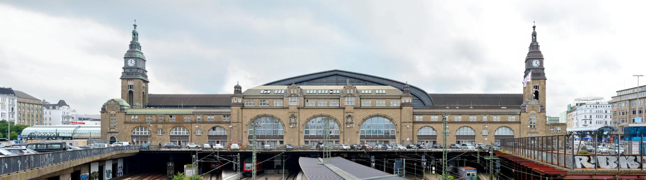 Hauptbahnhof Nordfassade