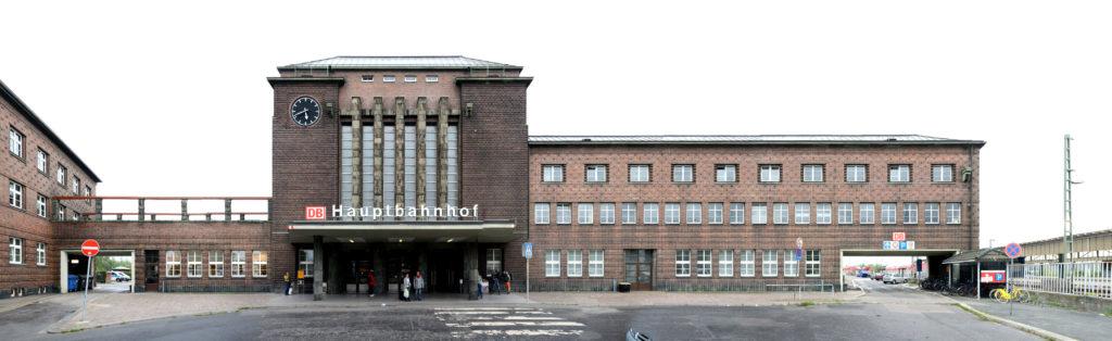 Hauptbahnhof Zwickau Bauhaus Architektur