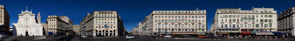 Marseille Vieux Port Panorama