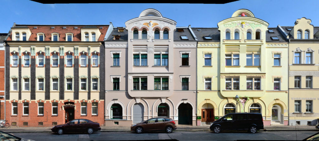 Zwickau Friedrich Ebert Straße Fassade