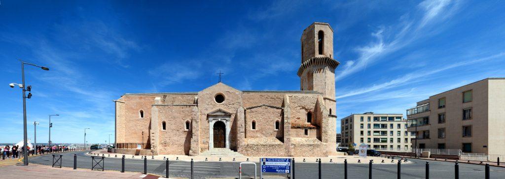 Marseille Saint Laurent Church Facade