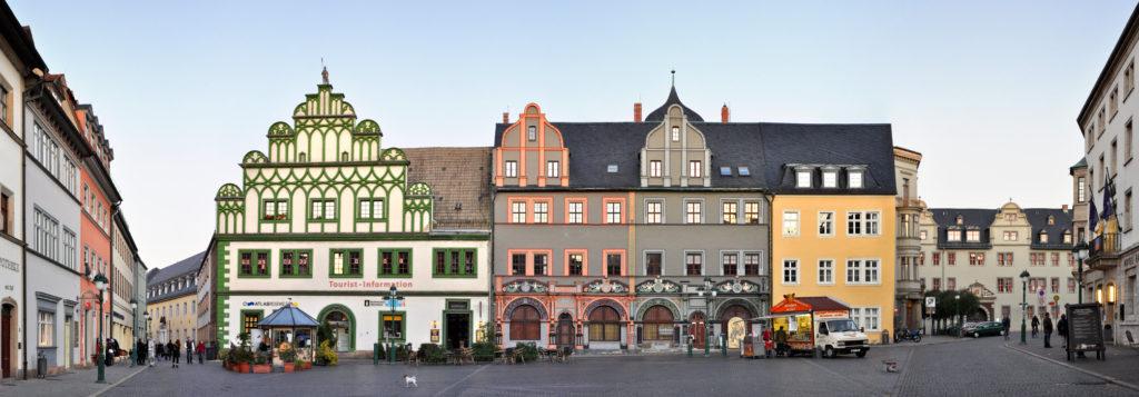 Markt Weimar Cranachhaus Architektur
