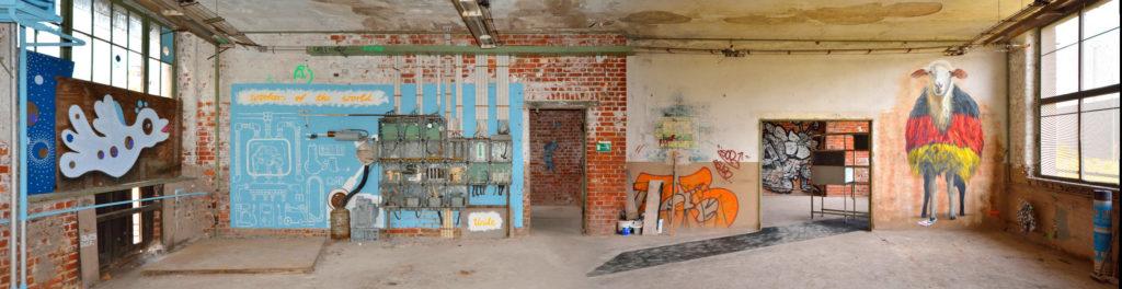 streetart ibug 2017 chemnitz Räume