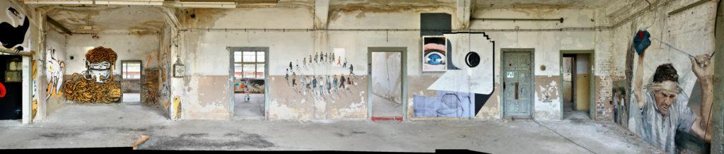 Chemnitz ibug 2017 Wandgestaltung