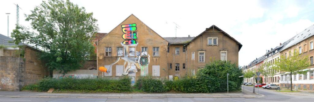 Chemnitz street front ibug 2017