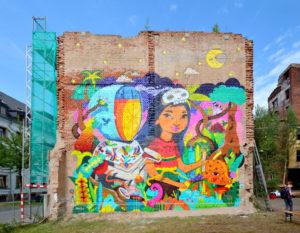mural at Chemnitz ibug 2017