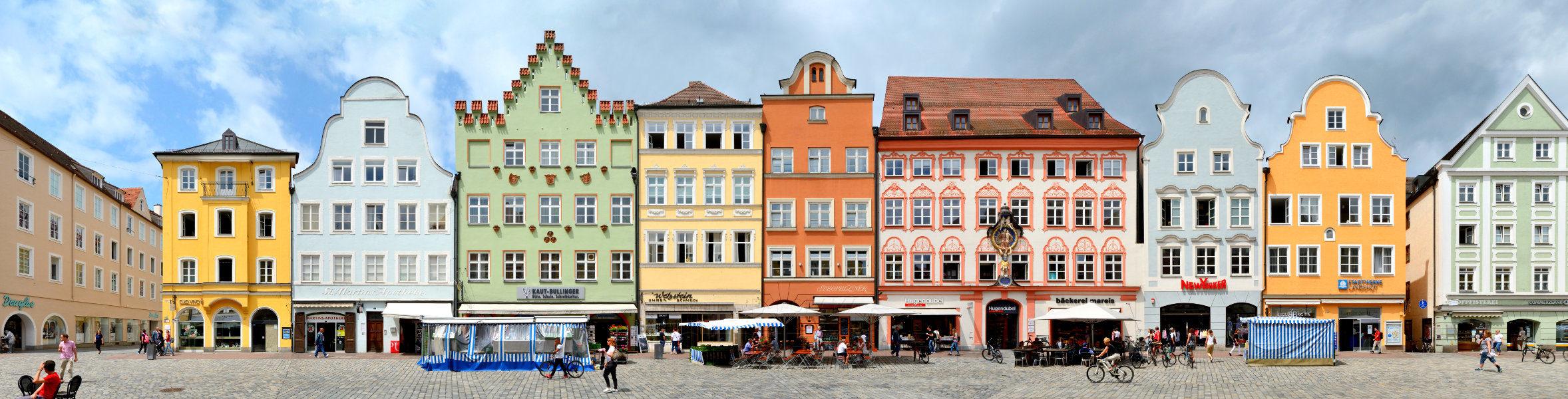 Altstadt Straßenblock