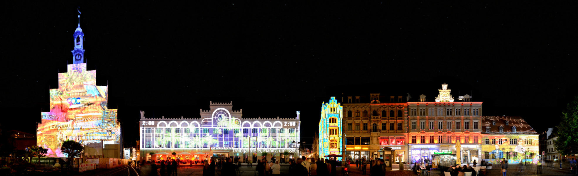 Hauptmarkt | Zwickau Festival of Lights