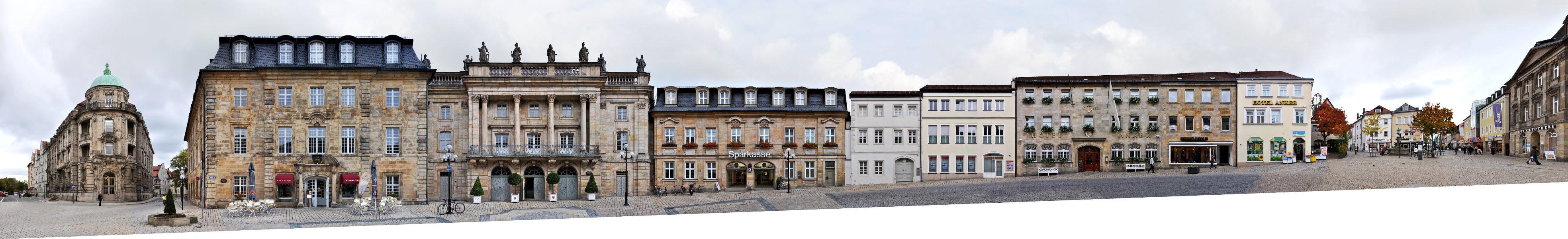 Opernstraße | Markgräfliches Opernhaus