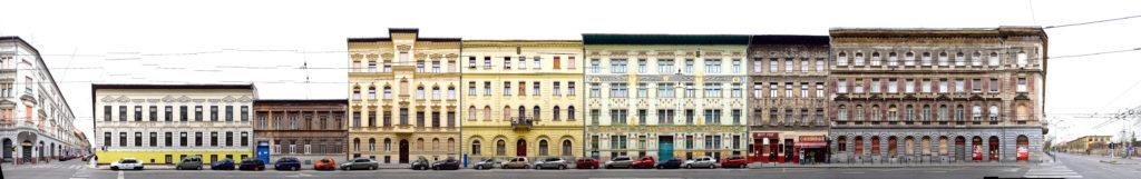 Lindenbaum Haus in Budapest Art Nouveau Jugendstil