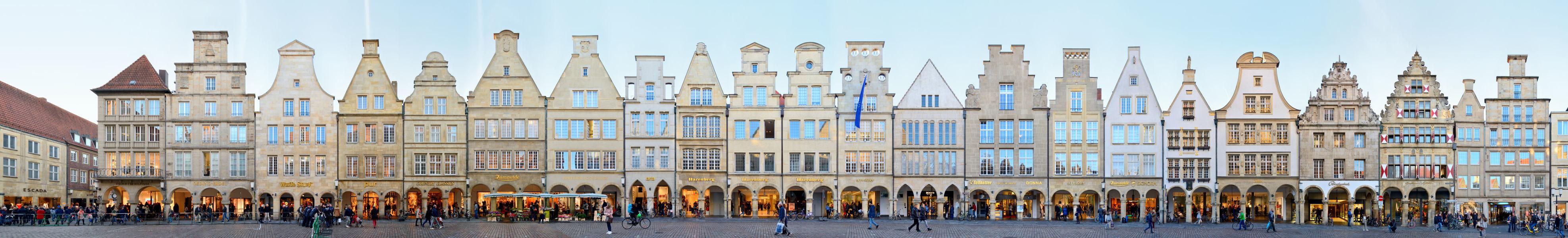 Prinzipalmarkt | Giebelhäuser