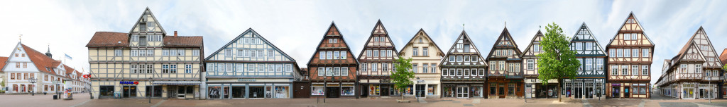 Fachwerk Celle Panorama