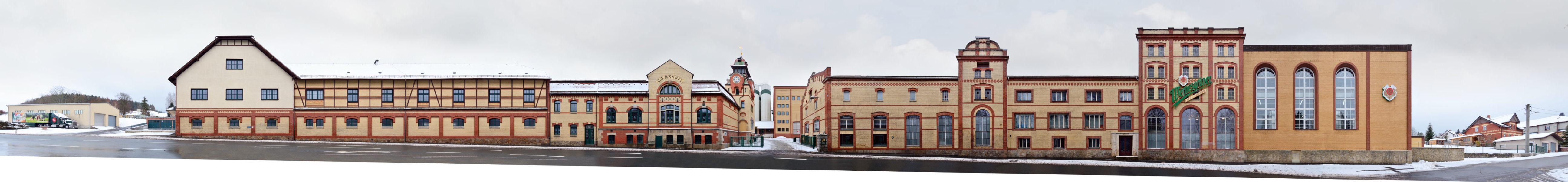 Wernesgrüner Brauerei Gebäude