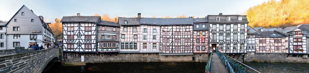 Rur Ufer Monschau Streetline