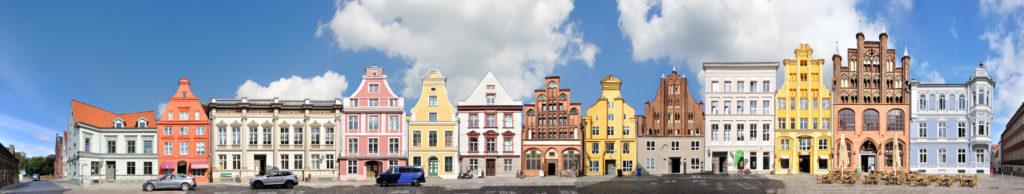 Stralsund Mühlenstrasse UNESCO Welterbe