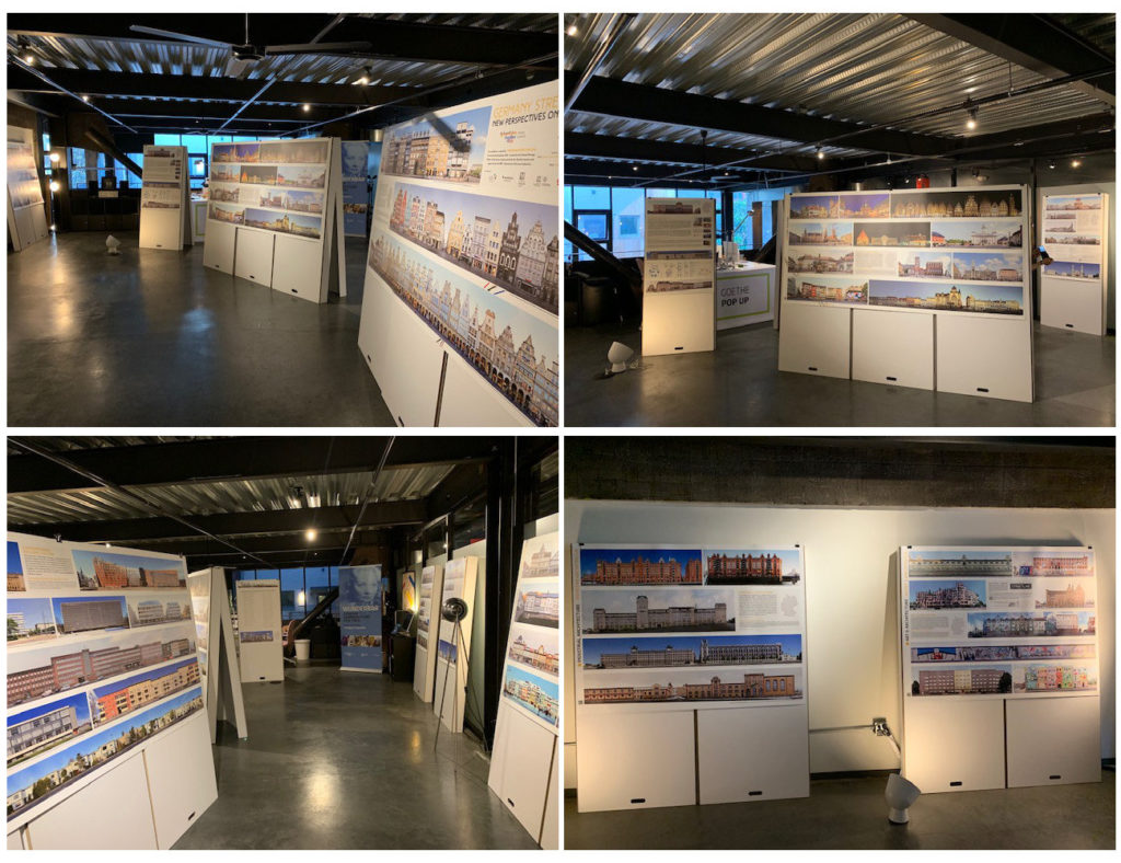 Germany Street Fronts Panorama Architecture Exhibition Seattle
