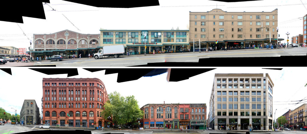 Seattle USA Street Fronts