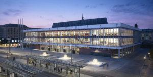 Sachsen Dresden Kulturpalast Architektur