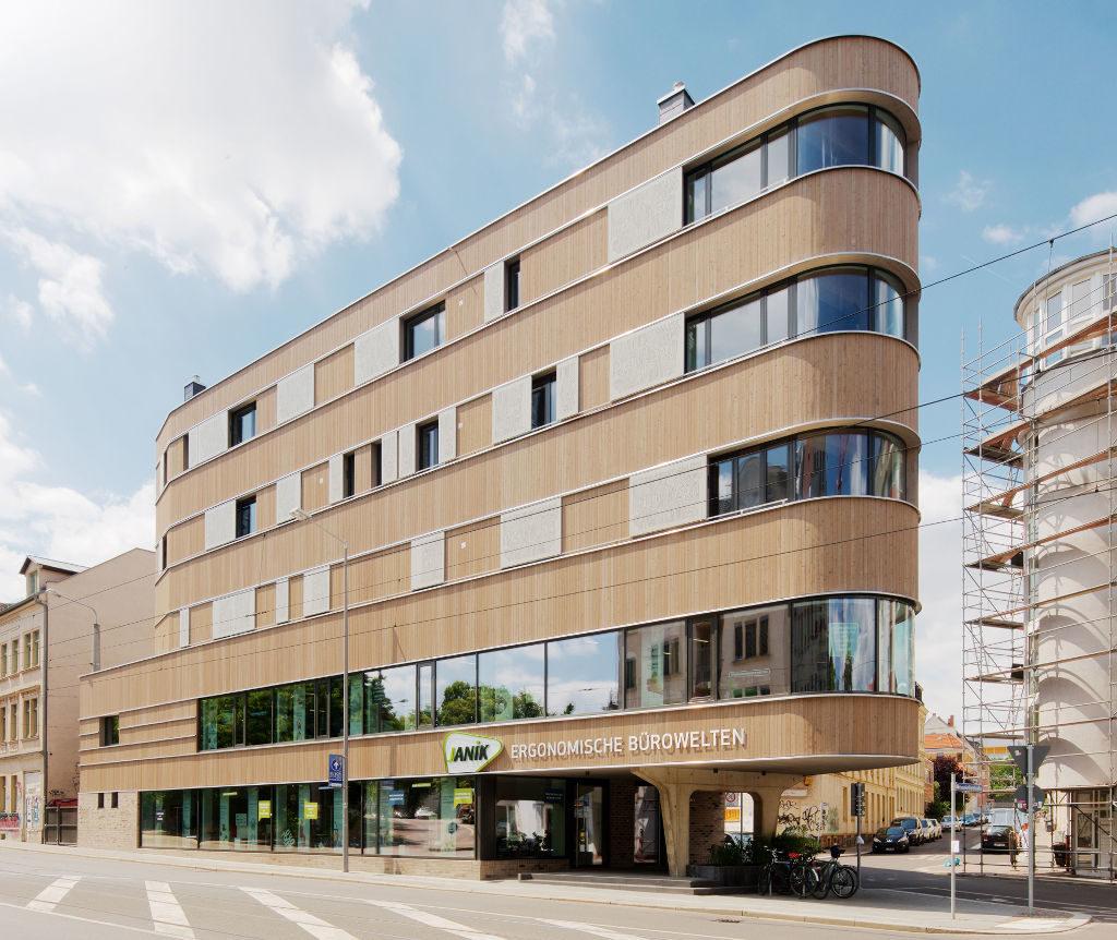 Sachsen Baukultur 2019 Holzhaus Lindenau